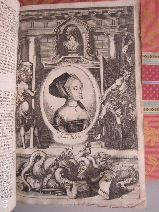 Libros antiguos: 1681-VIDA DEL EMPERADOR CARLOS V. SANDOVAL.GERONIMO VERDUSSEN.COMPLETA EN DOS TOMOS CON 48 GRABADOS - Foto 37 - 130004959