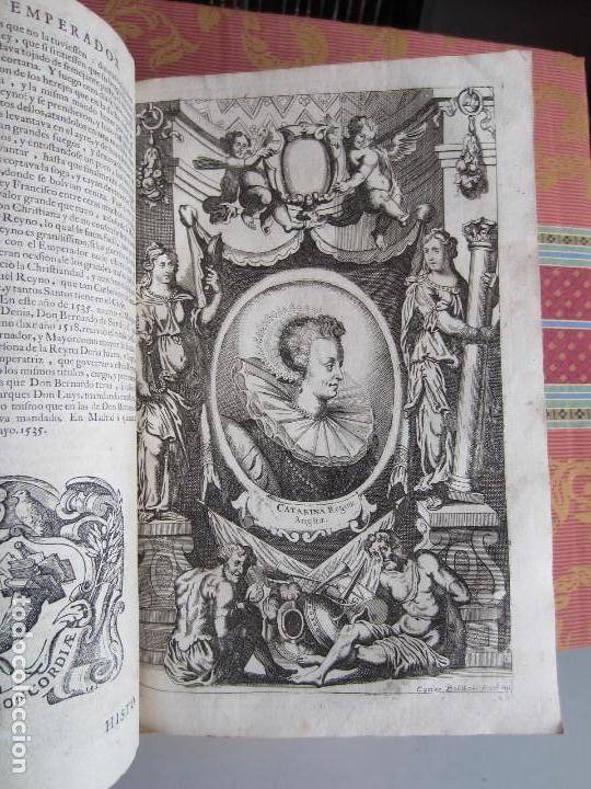 Libros antiguos: 1681-VIDA DEL EMPERADOR CARLOS V. SANDOVAL.GERONIMO VERDUSSEN.COMPLETA EN DOS TOMOS CON 48 GRABADOS - Foto 38 - 130004959