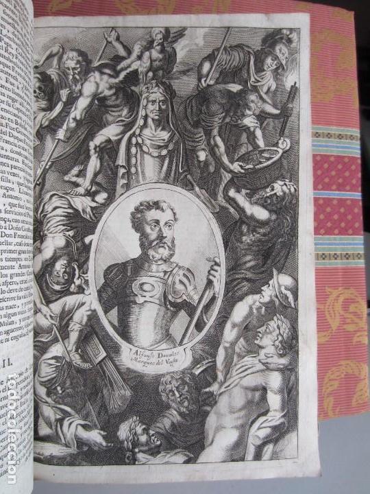 Libros antiguos: 1681-VIDA DEL EMPERADOR CARLOS V. SANDOVAL.GERONIMO VERDUSSEN.COMPLETA EN DOS TOMOS CON 48 GRABADOS - Foto 39 - 130004959