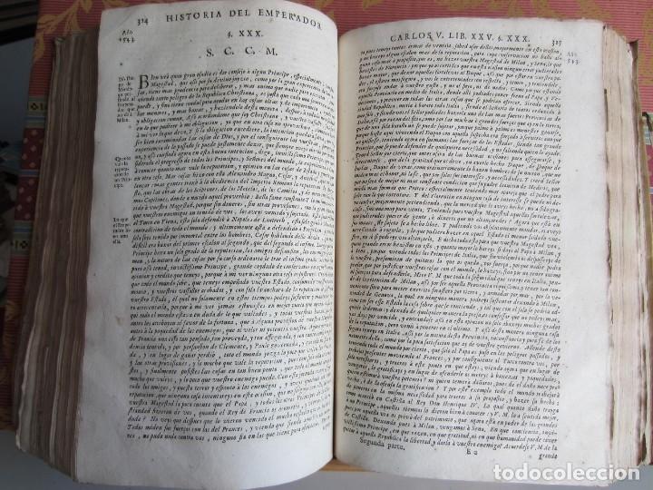 Libros antiguos: 1681-VIDA DEL EMPERADOR CARLOS V. SANDOVAL.GERONIMO VERDUSSEN.COMPLETA EN DOS TOMOS CON 48 GRABADOS - Foto 41 - 130004959
