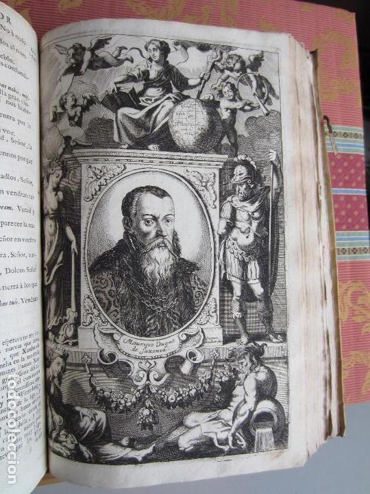 Libros antiguos: 1681-VIDA DEL EMPERADOR CARLOS V. SANDOVAL.GERONIMO VERDUSSEN.COMPLETA EN DOS TOMOS CON 48 GRABADOS - Foto 42 - 130004959
