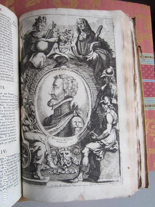 Libros antiguos: 1681-VIDA DEL EMPERADOR CARLOS V. SANDOVAL.GERONIMO VERDUSSEN.COMPLETA EN DOS TOMOS CON 48 GRABADOS - Foto 44 - 130004959