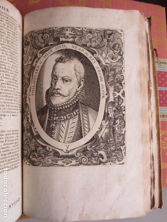 Libros antiguos: 1681-VIDA DEL EMPERADOR CARLOS V. SANDOVAL.GERONIMO VERDUSSEN.COMPLETA EN DOS TOMOS CON 48 GRABADOS - Foto 45 - 130004959