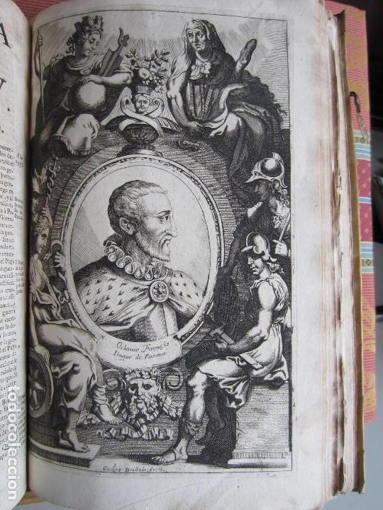 Libros antiguos: 1681-VIDA DEL EMPERADOR CARLOS V. SANDOVAL.GERONIMO VERDUSSEN.COMPLETA EN DOS TOMOS CON 48 GRABADOS - Foto 46 - 130004959
