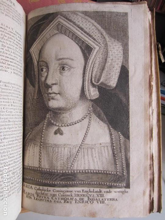 Libros antiguos: 1681-VIDA DEL EMPERADOR CARLOS V. SANDOVAL.GERONIMO VERDUSSEN.COMPLETA EN DOS TOMOS CON 48 GRABADOS - Foto 47 - 130004959