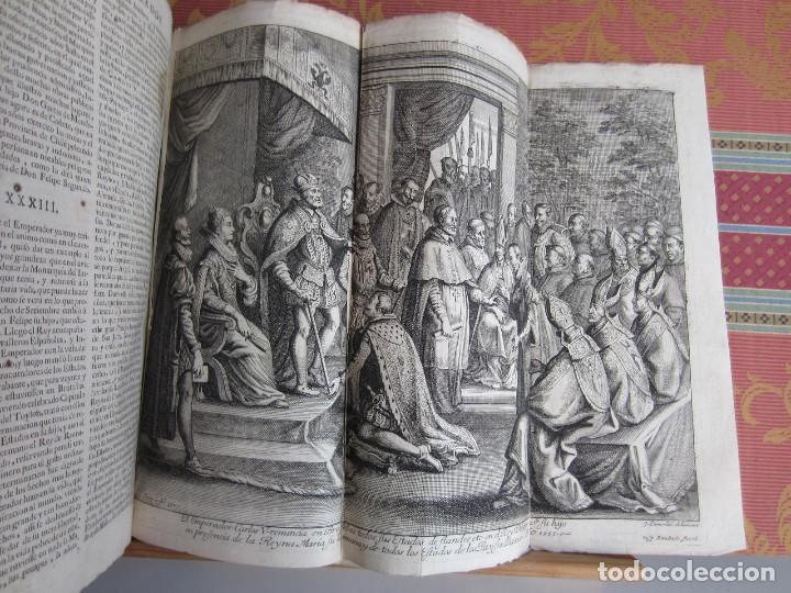 Libros antiguos: 1681-VIDA DEL EMPERADOR CARLOS V. SANDOVAL.GERONIMO VERDUSSEN.COMPLETA EN DOS TOMOS CON 48 GRABADOS - Foto 48 - 130004959