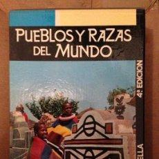 Libros antiguos: PUEBLOS Y RAZAS DEL MUNDO - AUGUSTO PANYELLA - BIBLIOTECA DE LA CULTURA. Lote 131511518