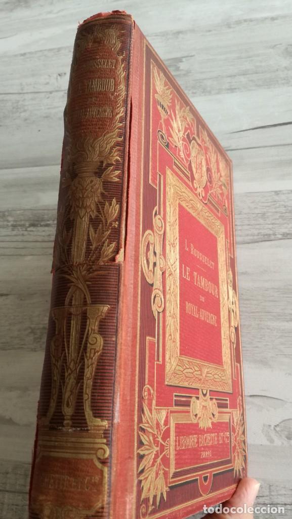 Libros antiguos: LE TAMBOUR DU ROYAL-AUVERGNE, PARTICIPACIÓN FRANCESA EN LA GUERRA DE INDEPENDENCIA DE ESTADOS UNIDOS - Foto 2 - 131702382