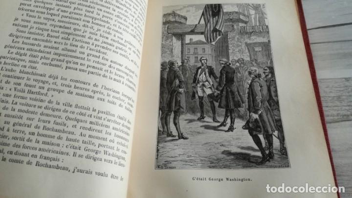 Libros antiguos: LE TAMBOUR DU ROYAL-AUVERGNE, PARTICIPACIÓN FRANCESA EN LA GUERRA DE INDEPENDENCIA DE ESTADOS UNIDOS - Foto 6 - 131702382