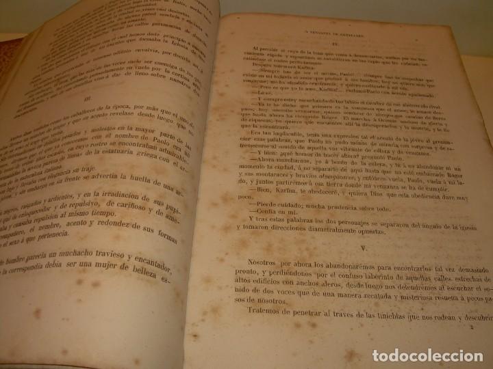 Libros antiguos: LIBRO TAPAS DE PIEL....ROGER DE FLOR O VENGANZA DE CATALANES...AÑO 1864..CON BONITOS GRABADOS. - Foto 8 - 133479010