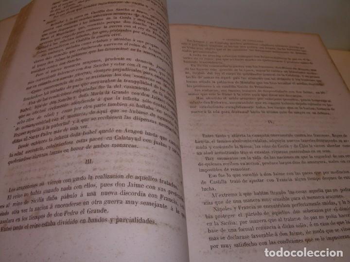 Libros antiguos: LIBRO TAPAS DE PIEL....ROGER DE FLOR O VENGANZA DE CATALANES...AÑO 1864..CON BONITOS GRABADOS. - Foto 11 - 133479010