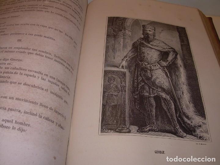 Libros antiguos: LIBRO TAPAS DE PIEL....ROGER DE FLOR O VENGANZA DE CATALANES...AÑO 1864..CON BONITOS GRABADOS. - Foto 16 - 133479010