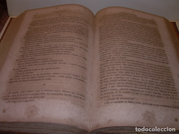Libros antiguos: LIBRO TAPAS DE PIEL....ROGER DE FLOR O VENGANZA DE CATALANES...AÑO 1864..CON BONITOS GRABADOS. - Foto 17 - 133479010