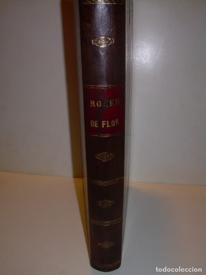 Libros antiguos: LIBRO TAPAS DE PIEL....ROGER DE FLOR O VENGANZA DE CATALANES...AÑO 1864..CON BONITOS GRABADOS. - Foto 24 - 133479010