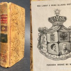 Libros antiguos: 1790 - CARTAS HISTORICAS Y GALANTES - EXLIBRIS DEL PRINCIPE HEREDERO DE ALBANIA - JÉREZ. Lote 133737314