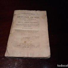 Libros antiguos: COLECCION DE LOS TRATADOS DE PAZ ,ALIANZA, COMERCIO ETC AJUSTADOS POR LA CORONA DE ESPAÑA .AÑO 1796. Lote 133777482