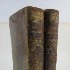 Libros antiguos: BARCELONA ANTIGUA Y MODERNA, ANDRÉS AVELINO PI, 2 TOMOS, 1854, IMPR TOMÁS GORCHS, BARCELONA. 31X22CM. Lote 134756646