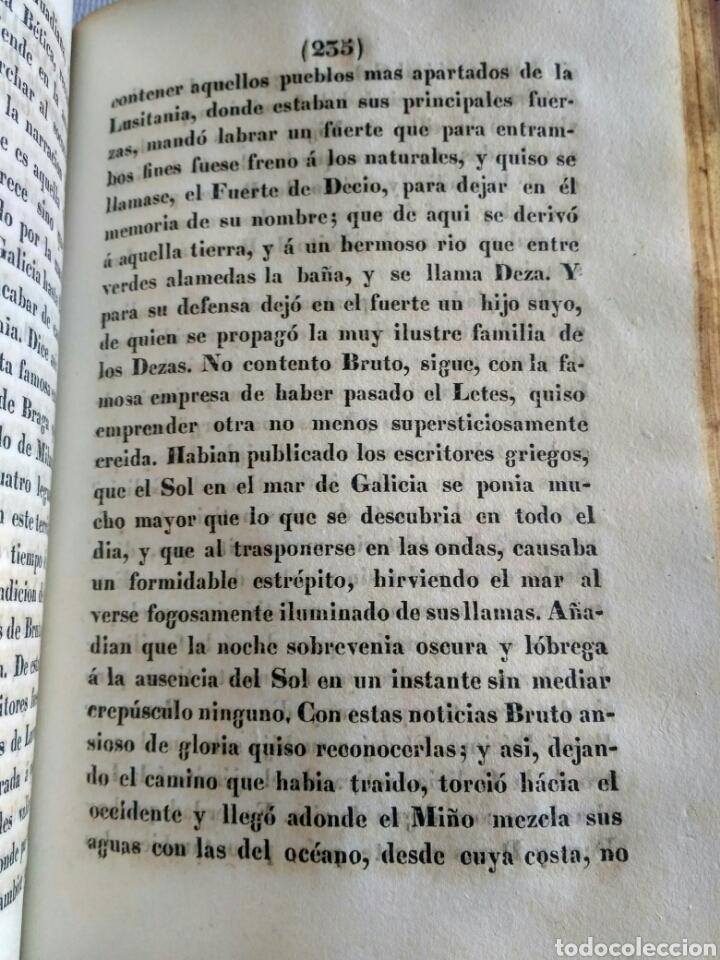 Libros antiguos: Historia de Galicia, José Verea y Aguiar, Ferrol 1838. - Foto 11 - 134833578
