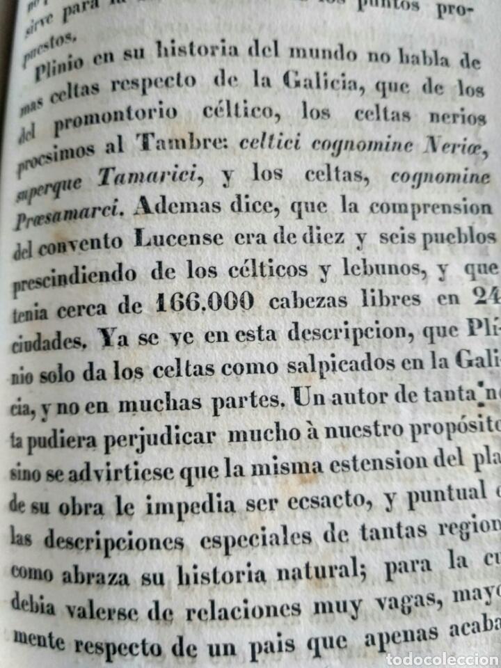 Libros antiguos: Historia de Galicia, José Verea y Aguiar, Ferrol 1838. - Foto 12 - 134833578