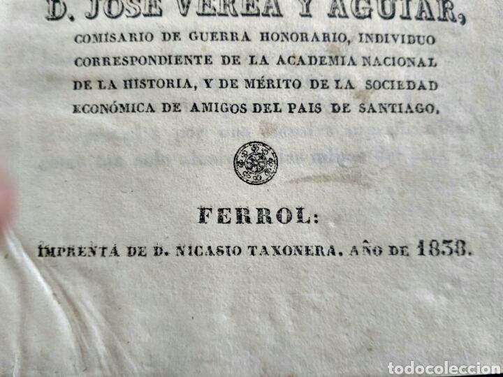Libros antiguos: Historia de Galicia, José Verea y Aguiar, Ferrol 1838. - Foto 18 - 134833578