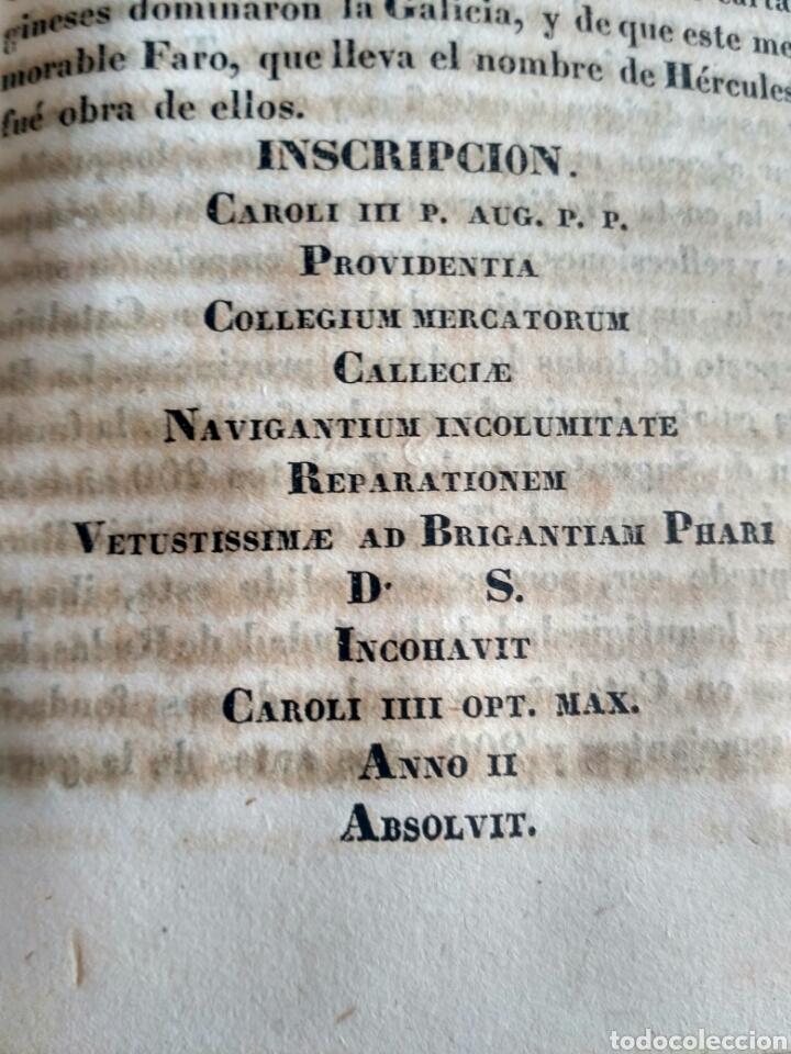 Libros antiguos: Historia de Galicia, José Verea y Aguiar, Ferrol 1838. - Foto 26 - 134833578