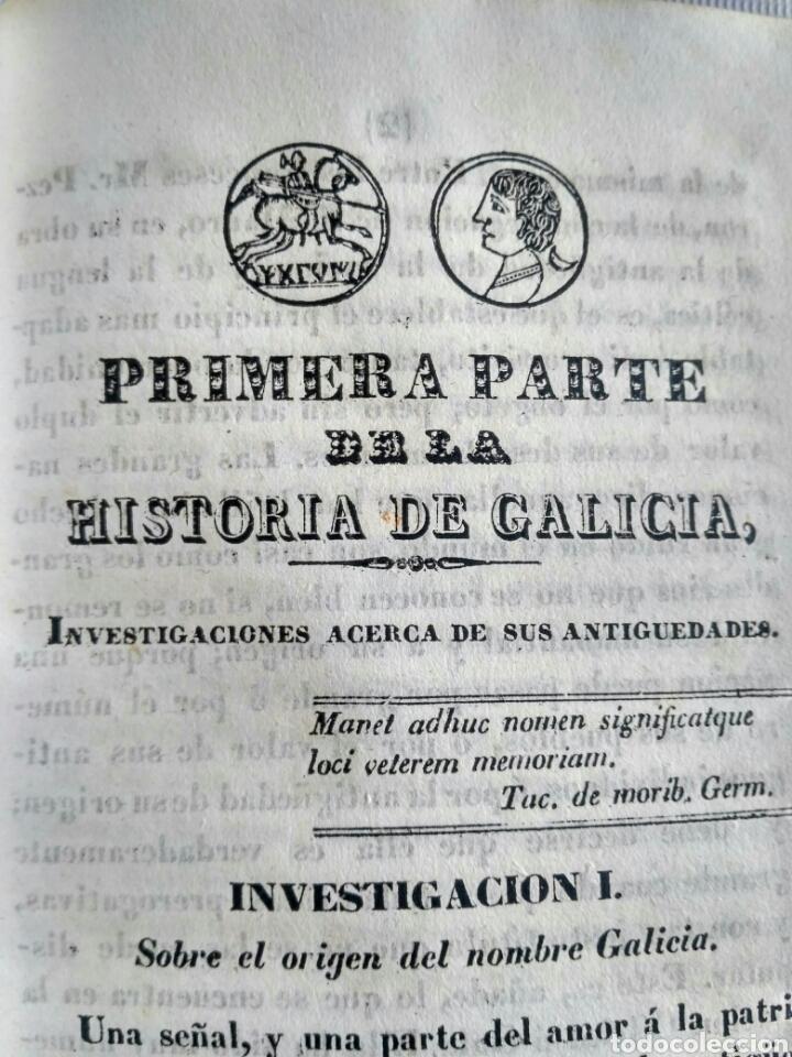 Libros antiguos: Historia de Galicia, José Verea y Aguiar, Ferrol 1838. - Foto 29 - 134833578
