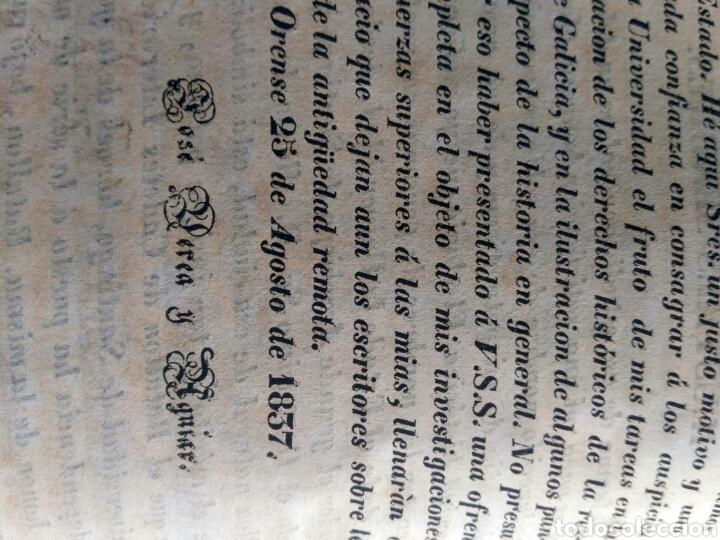 Libros antiguos: Historia de Galicia, José Verea y Aguiar, Ferrol 1838. - Foto 30 - 134833578
