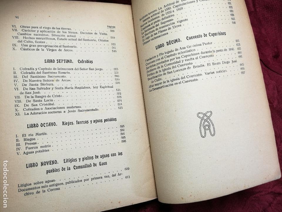 Libros antiguos: HISTORIA DE LA ANTIQUISIMA VILLA DE ALBALATE DEL ARZOBISPO.zaragoza VICENTE BARDAVÍU PONZ. 1914 - Foto 5 - 134866802