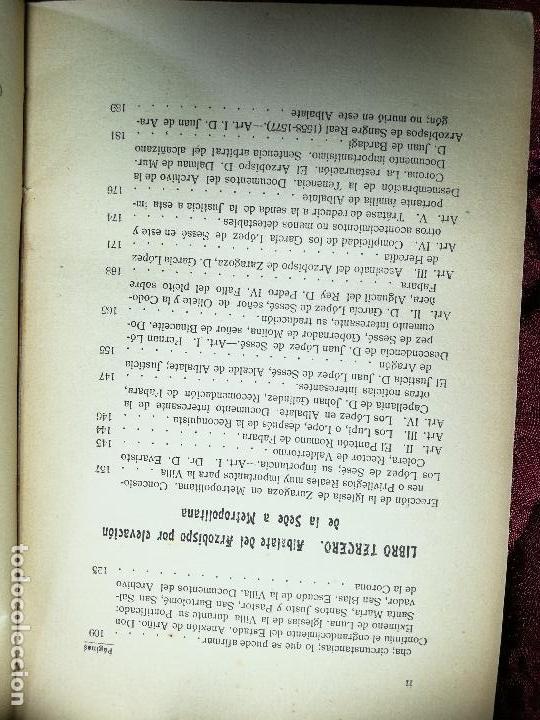 Libros antiguos: HISTORIA DE LA ANTIQUISIMA VILLA DE ALBALATE DEL ARZOBISPO.zaragoza VICENTE BARDAVÍU PONZ. 1914 - Foto 6 - 134866802