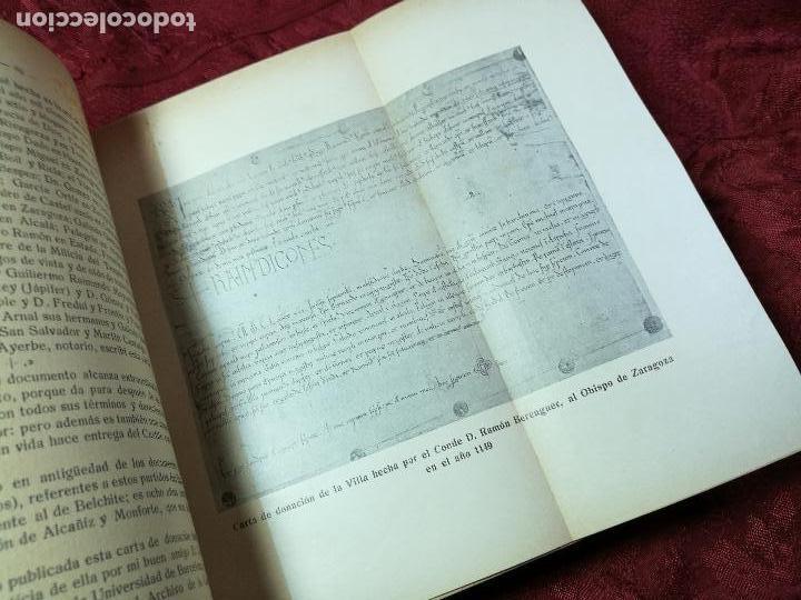 Libros antiguos: HISTORIA DE LA ANTIQUISIMA VILLA DE ALBALATE DEL ARZOBISPO.zaragoza VICENTE BARDAVÍU PONZ. 1914 - Foto 15 - 134866802