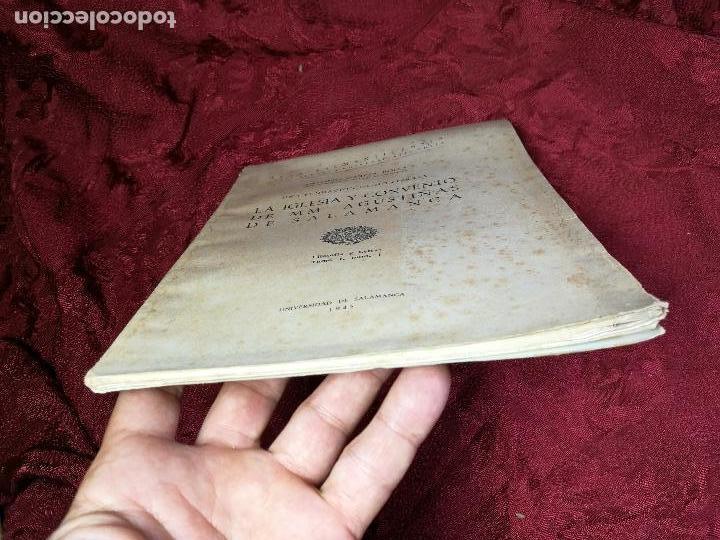 Libros antiguos: LA IGLESIA Y CONVENTO DE MM. AGUSTINAS DE SALAMANCA. UNA FUNDACIÓN DE MONTERREY - GARCÍA BOIZA,1945 - Foto 9 - 134928414