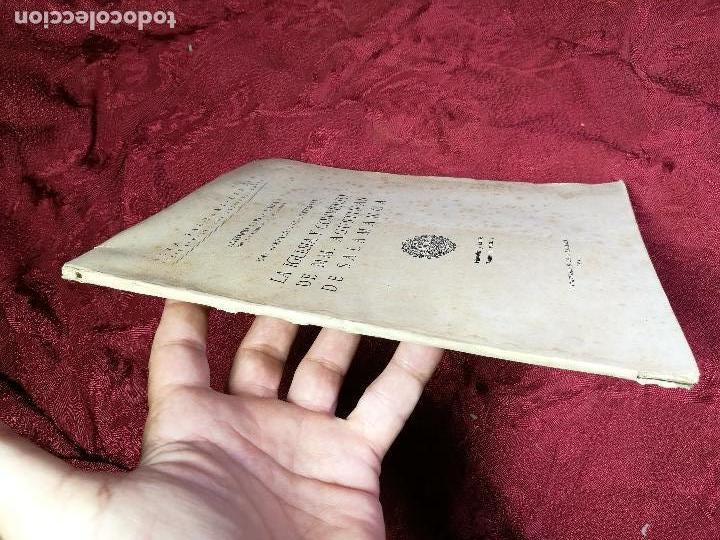 Libros antiguos: LA IGLESIA Y CONVENTO DE MM. AGUSTINAS DE SALAMANCA. UNA FUNDACIÓN DE MONTERREY - GARCÍA BOIZA,1945 - Foto 11 - 134928414