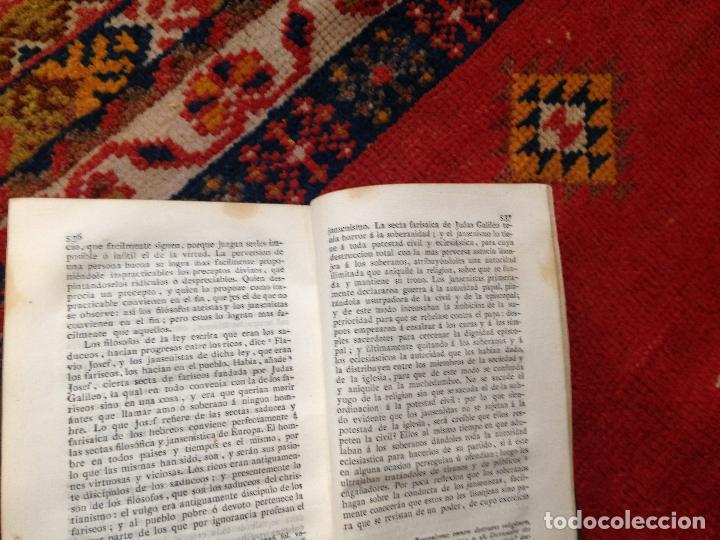 Libros antiguos: causas de la revolucion de francia tomo I por el abate D. lorenzo hervas y panduro 1807 - Foto 7 - 134960798