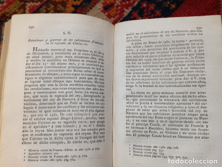 Libros antiguos: causas de la revolucion de francia tomo I por el abate D. lorenzo hervas y panduro 1807 - Foto 8 - 134960798