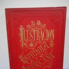 Libros antiguos: LA ILUSTRACIÓN ESPAÑOLA Y AMERICANA 1899 - 1º TOMO. Lote 135435506