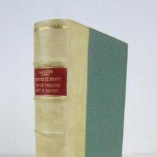 Libros antiguos: HISTOIRE DU DROIT DANS LES PYRÉNÉES, LAGRÈZE, 1867, PARIS. 16,5X23CM. Lote 144069696