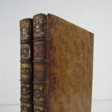 Libros antiguos: HISTOIRE DE LA VIE DE HENRI IV, 1765, M. DE BURY, 2 TOMOS, PARIS. 21X26,5M. Lote 135782342
