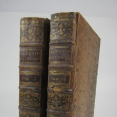 Libros antiguos: LE BANQUIER ET NEGOCIANT UNIVERSEL OU TRAITÉ GÉNÉRAL DES CHANGES ÉTRANGERS, 1760, BLÉVILLE, PARIS.. Lote 136812594