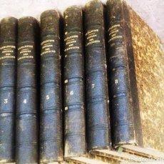 Libros antiguos: HISTOIRE DES GIRONDINS- A. DE LAMARTINE- 1848- EDIT. FURNE- COQUEBERT (PARIS)- 7 TOMOS- EN FRANCÉS-. Lote 138407762