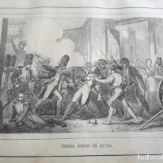 Libros antiguos: EL DOS DE MAYO O LOS FRANCESES EN MADRID (1863?) - 12 LÁMINAS FUERA DE TEXTO. Lote 138802754