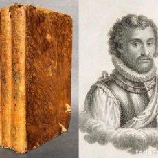 Libros antiguos: 1839 HISTORIA DE LA AMERICA POR W. ROBERTSON - MEXICO - PERU. Lote 139260010
