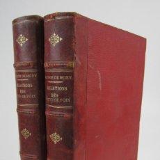 Alte Bücher - Relations politiques des comtes de Foix avec la Catalogne, Baudon de Mony, 1896, 2 tomos, Paris. - 139284834
