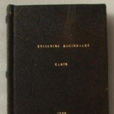 Libros antiguos: PÉREZ GALDÓS. EPISODIOS NACIONALES. CADIZ 1926.. Lote 139328234