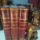 Libros antiguos: HISTORIA DE ESPAÑA EN EL SIGLO XIX - DON FRANCISCO PI Y MARGALL - 3 TOMOS - MIGUEL SEGUÍ - BCN -1902. Lote 139512082