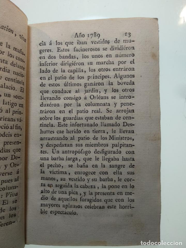 Libros antiguos: HISTORIA DE LA REVOLUCIÓN DE FRANCIA - D. FRANCISCO GRIMAUD DE VELAUNDE - TOMO III - MADRID - 1814 - - Foto 3 - 139846814