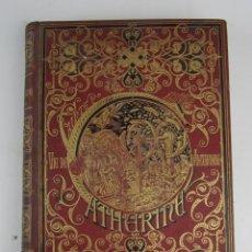 Libros antiguos: VIE DE STE CATHERINE D'ALEXANDRIE, JEAN MIELOT, MARIUS SEPET, 1881, PARIS. 22X29CM. Lote 139856022