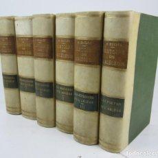 Libros antiguos: HISTOIRE DES ARIÉGEOIS, M. H. DUCLOS, 6 TOMOS, AÑOS 1881, 1882, 1883, 1886, 1887, PARIS. 15,5X22,5CM. Lote 139953138