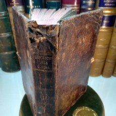 Libros antiguos: CHRONOLOGÍA EXACTA DE LOS PAPAS,EMPERADORES,SOBERANOS, Y GEFES EN LAS REPÚBLICAS DE EUROPA - 1782 -. Lote 140303390