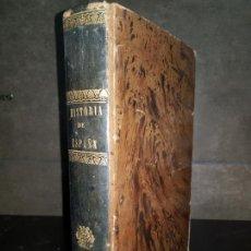 Libros antiguos: HISTORIA GENERAL DE ESPAÑA POR EL P. JUAN DE MARIANA CON NOTAS , LA CONTINUACIÓN DE MIÑANA ED TASSO. Lote 140629970
