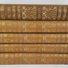 Libros antiguos: HISTORIA DEL MUNDO. 5 TOMOS. J.PIJOAN. EDIT SALVAT. 1926/1941.. Lote 140743302